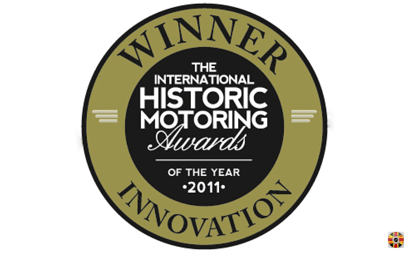 Stuart Brown of 3D Engineers wins 2011 International Historic Motoring Awards inaugural innovation of the year.