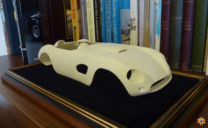 Mitchell Special MKII, designed by 3D Engineers, has 3D printed model created to verify a superb design.