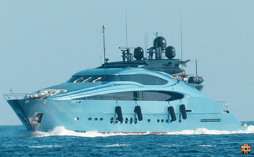 3D Engineers have scanned yachts and boats. Large size no problem. Yacht pictured is blue.