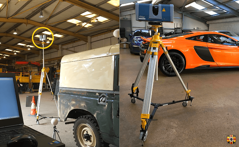 Expensive or otherwise, Land Rover to a McLaren, 3D Engineers enjoy laser scanning all car types.