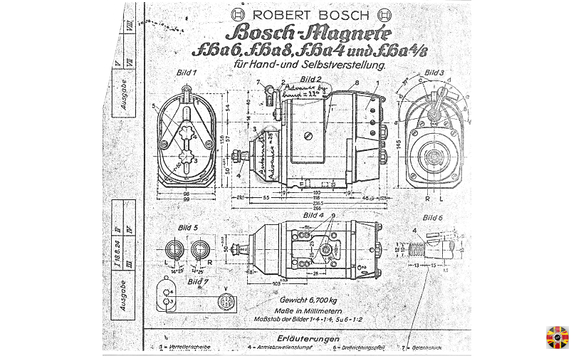 Bosch Magneto, as used on Bugatti Type 35, reverse engineered from plans by 3D Engineers.