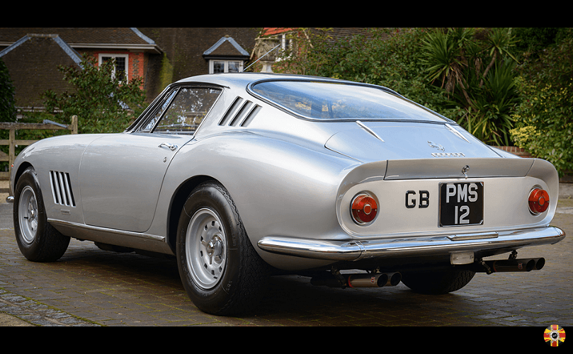 Ferrari 275 GTB photographed for insurance purposes. Shoot organised by 3D Engineers.